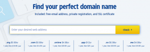 Websites to get Domains for $1 2